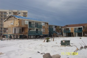 Pensacola Beach Condominium Hurricane IVAN Loss